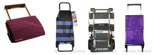 8bb7f6de4b87 Praktikus, nagy kerekes, összecsukható szállító táska és bevásárlókocsi  vásárláshoz, hajóra pakoláshoz.