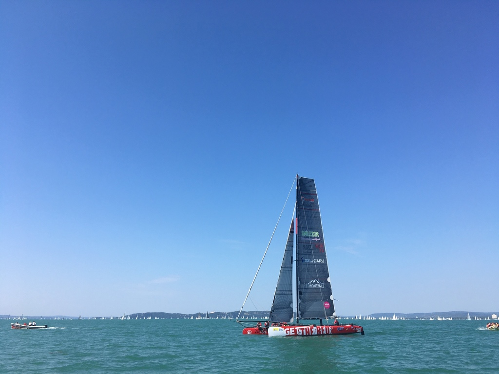 Forrás: Get The Red Sailing Team / Holló Dániel / Lázár Antónia