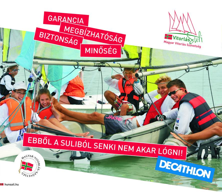 Összefog a Decathlon és a Vitorlás Suli program - Porthole 83c0fc4604